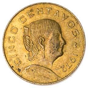 Mexico 5-CENTAVOS (KM427)