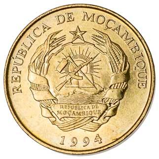 Mozambique 5-METICAIS (KM116)
