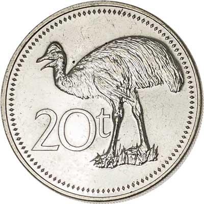 Papua New Guinea 20-TOEA (KM5)