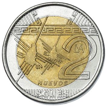 Peru 2-NUEVOS SOLES (KM343)